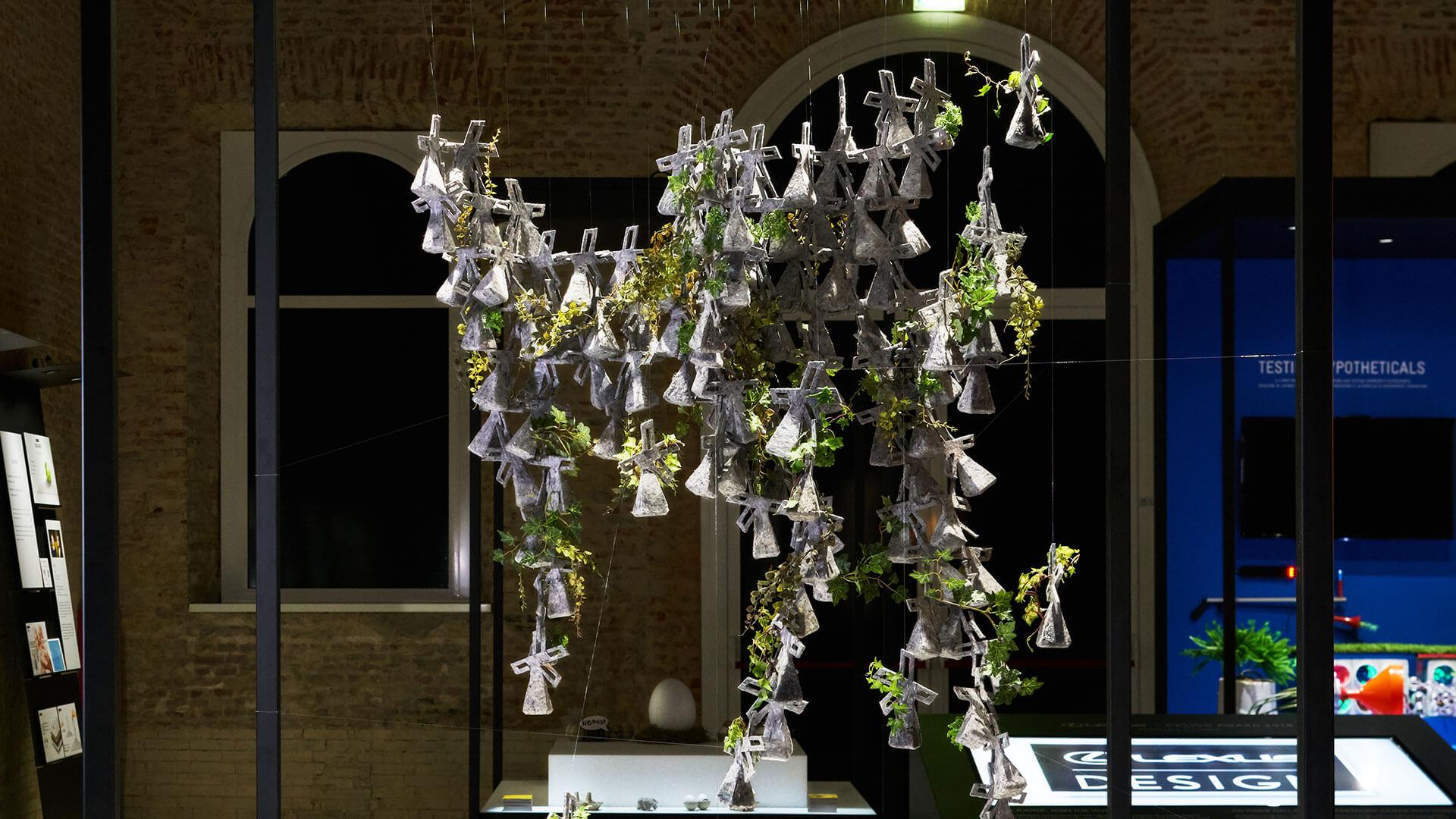 lexus lda 2018 winners gallery protoype recycled fiber planter