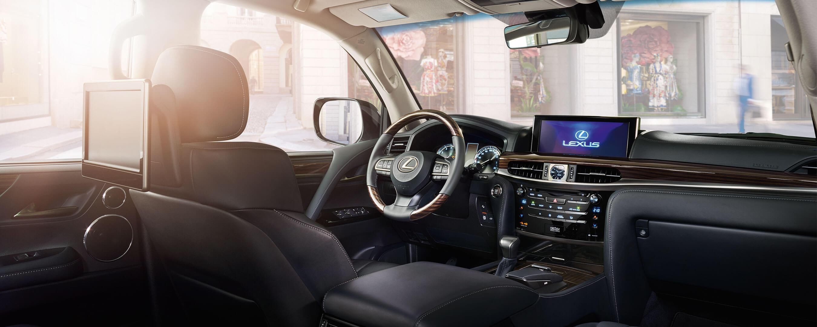 2018 lexus lx 570 experience hero interior front