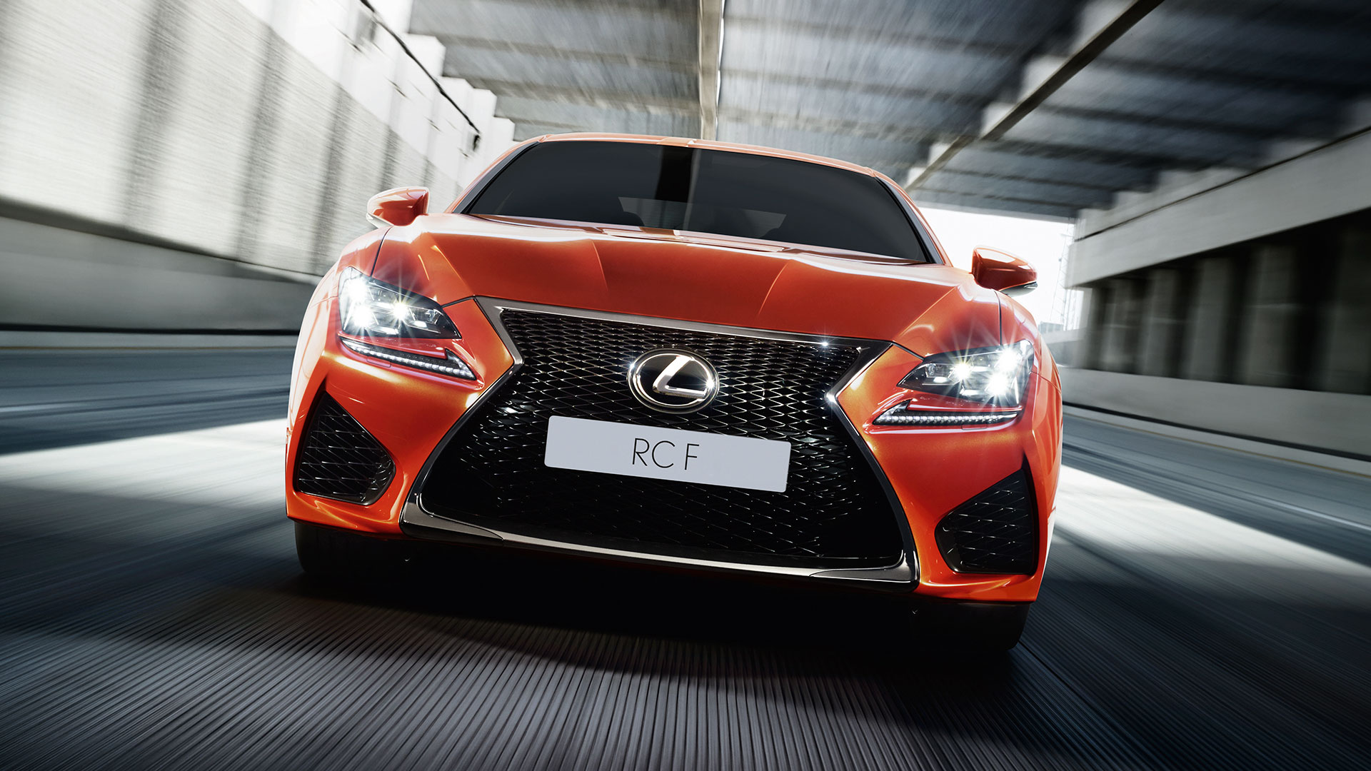 2017 lexus rc f features led headlights
