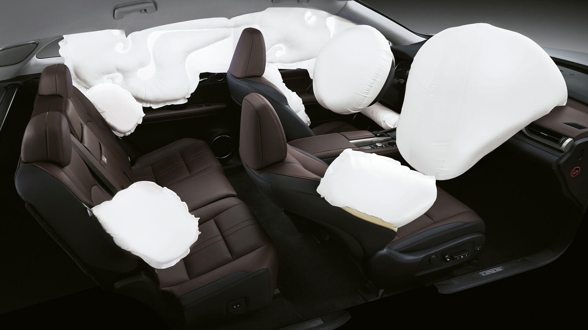 2017 lexus rx 200t features airbags
