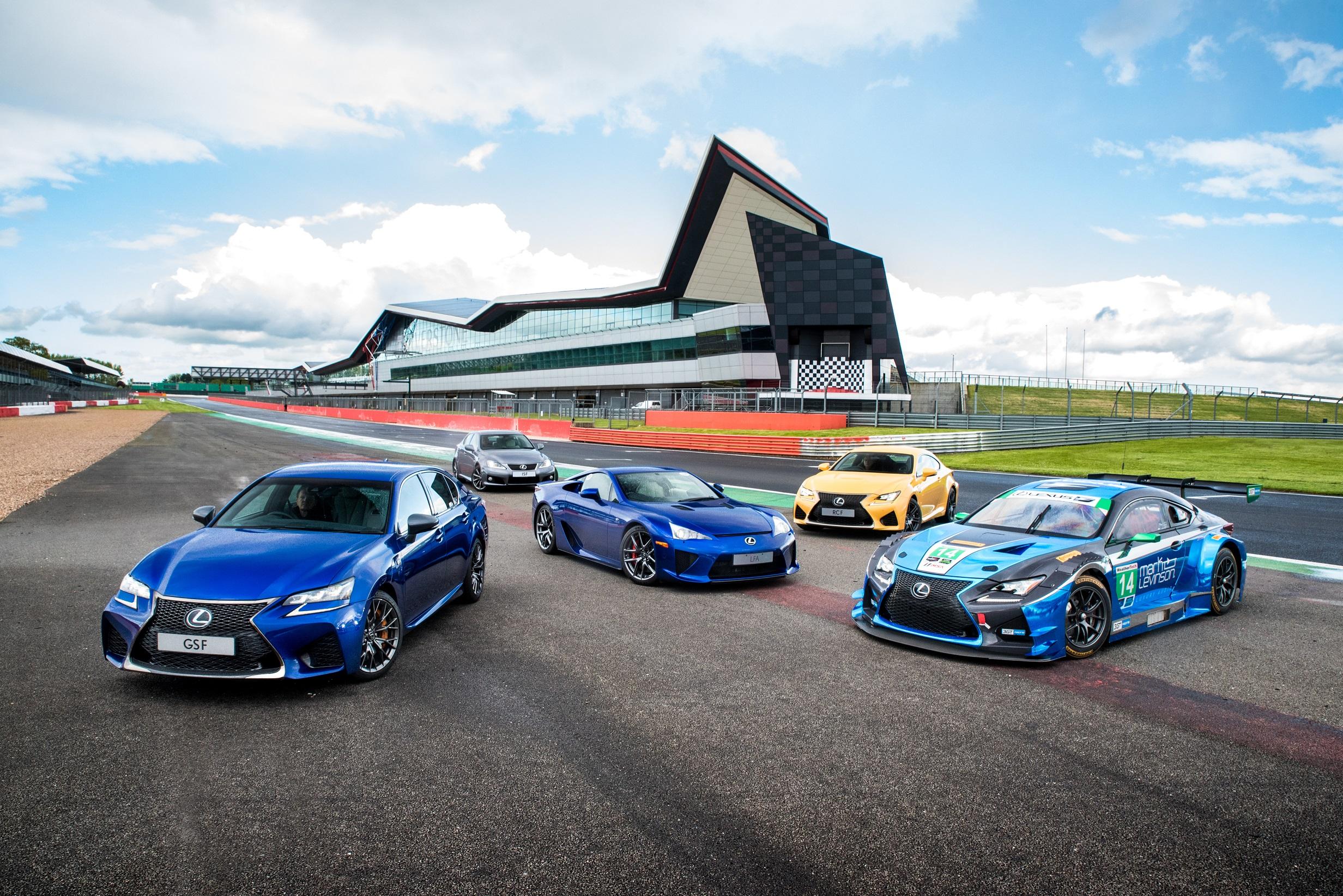 Lexus Celebra 10 Aniversario Marca F Goodwood