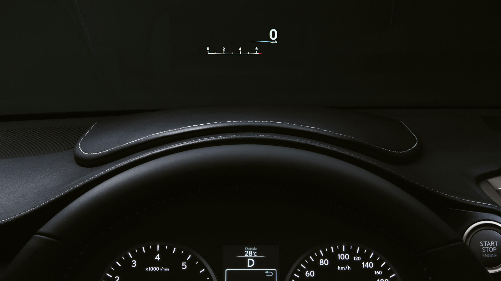 2017 lexus nx 300h features head up display