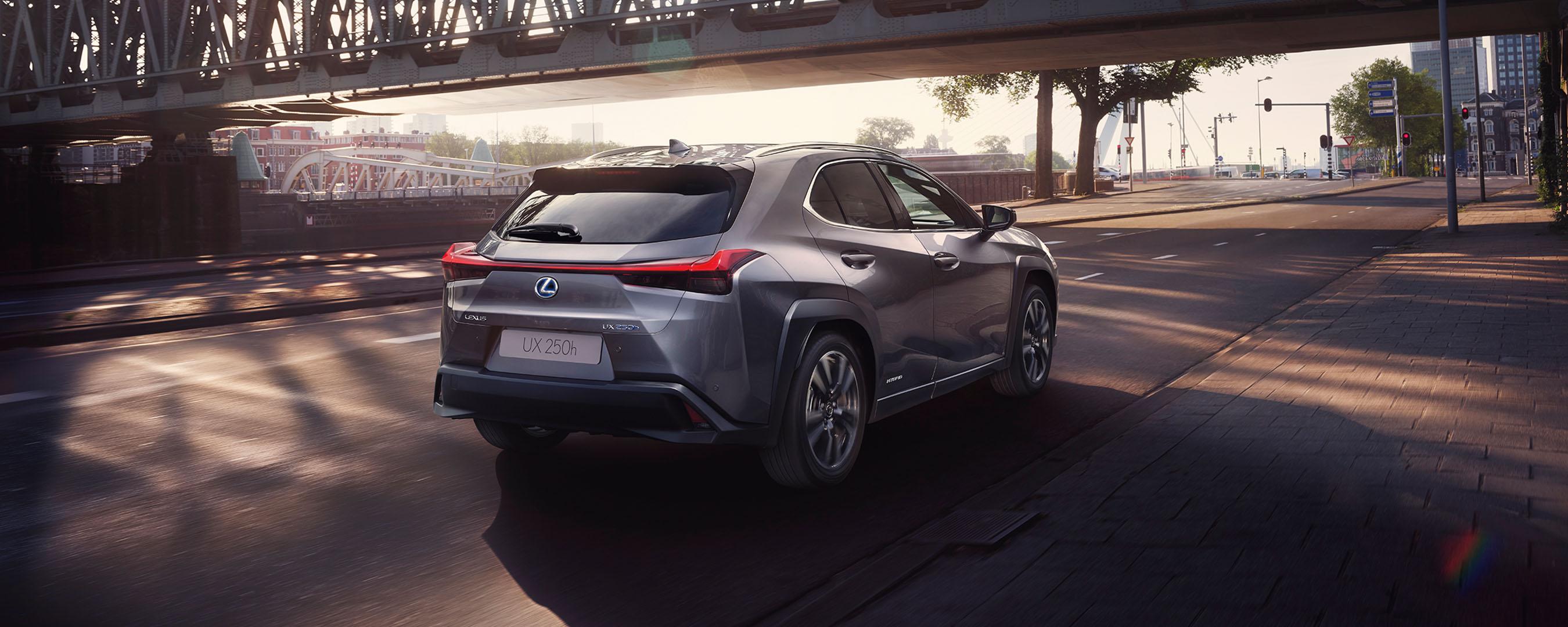 2018 lexus ux hybrid experience rear exterior