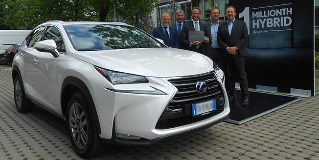 Lexus Million Hybrids Image