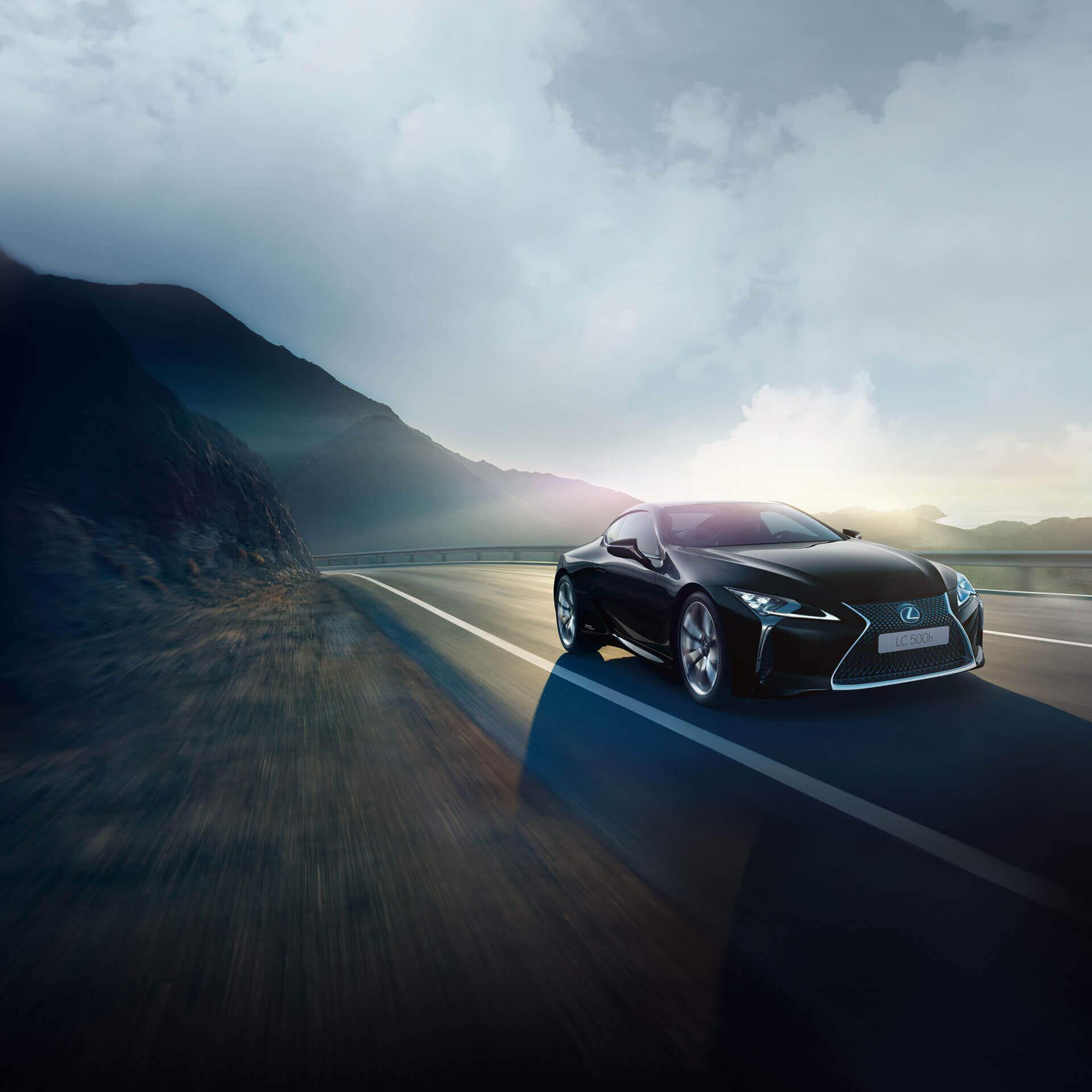 Lexus LC 500h Hero