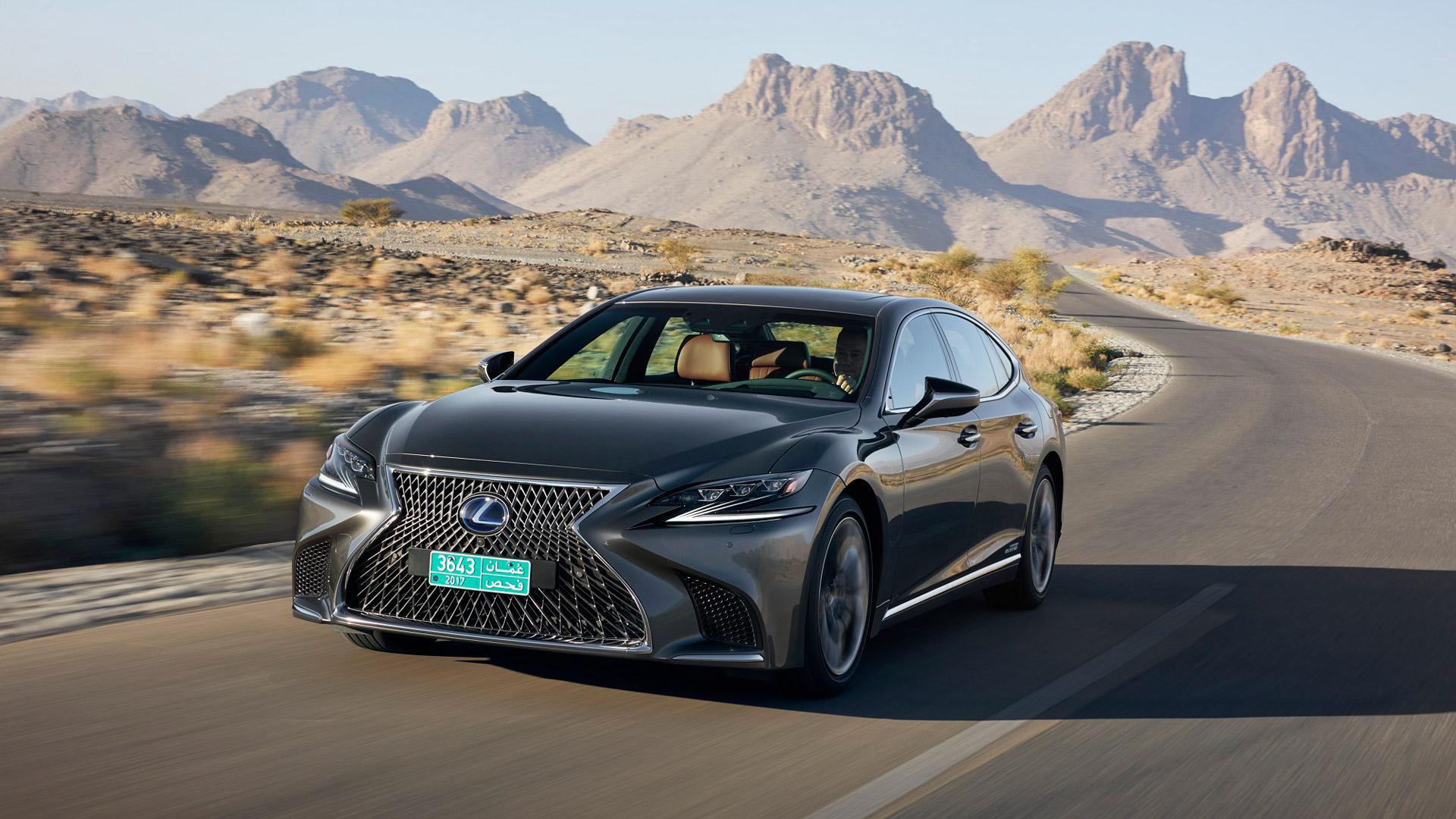 Lexus LS 500h gallery01