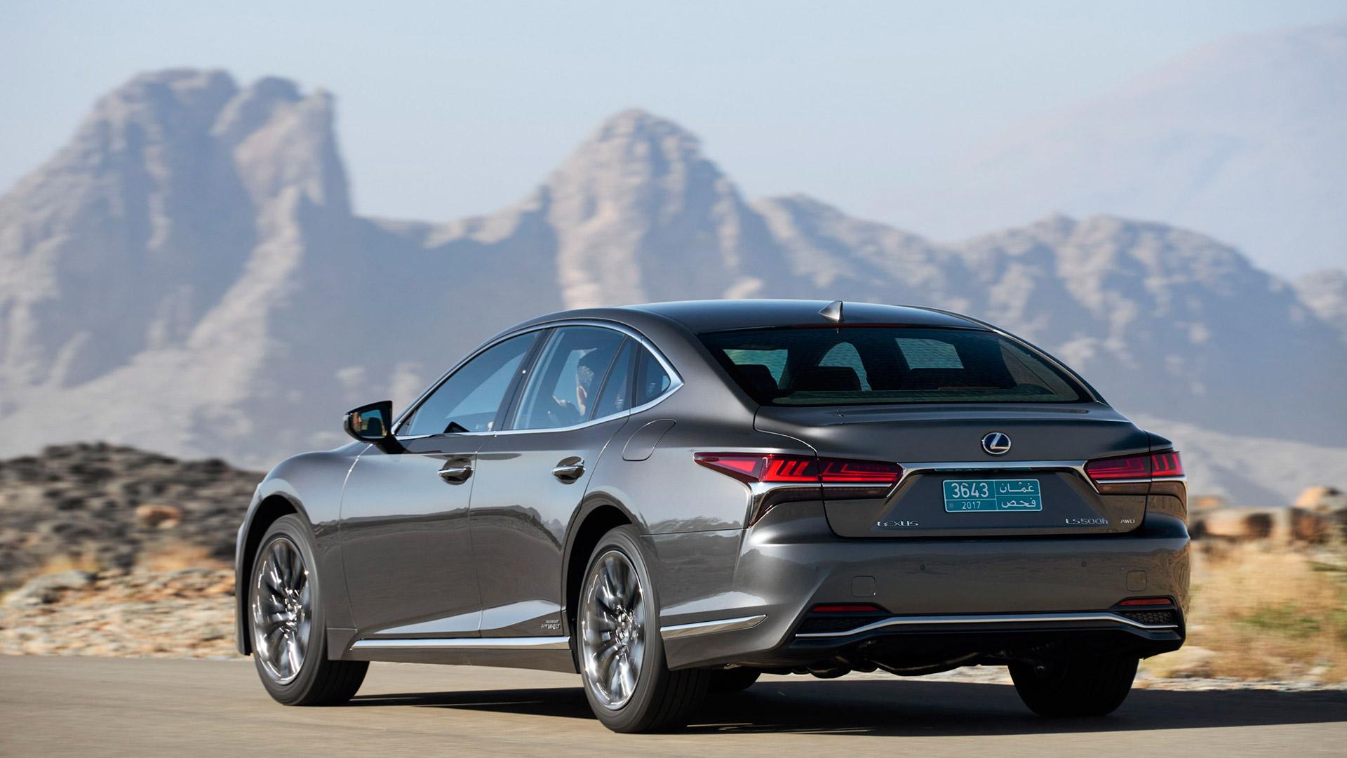Lexus LS 500h gallery03